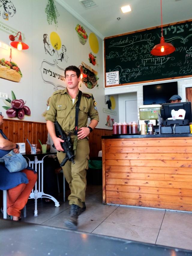 Isreali Soldier