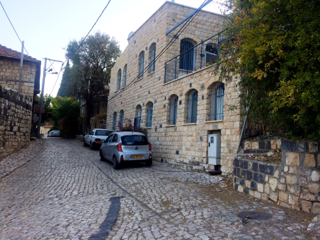Rosh Pinna old city area