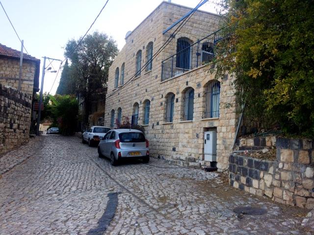 Rosh Pinna old city area