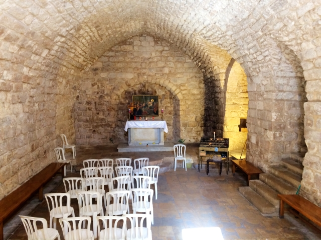 Synagouge where Jesus read from the torah