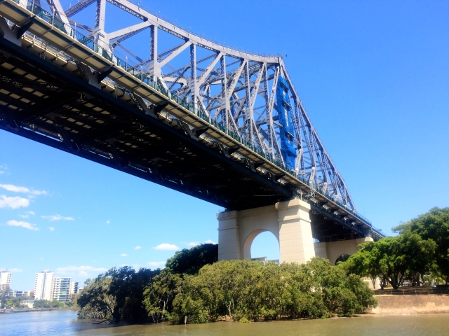 Bridge over Brisbane River