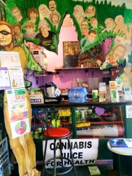 Coffee shop in Nimbin