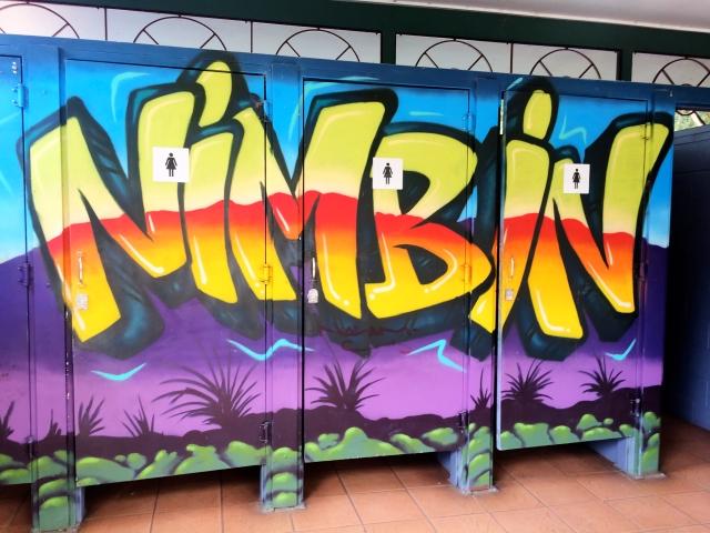 Public bathrooms in NImbin