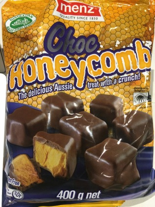 Australian brand chocolate covered honeycomb