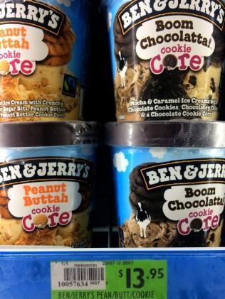 Ben & Jerry's prices