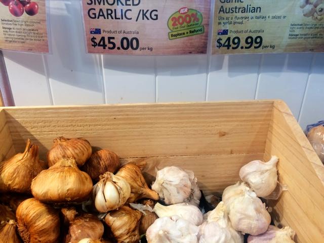Garlic prices