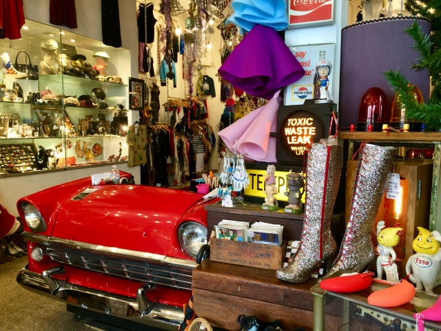 Vintage store - Melbourne