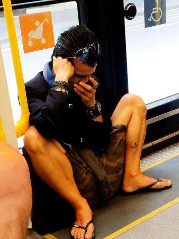 Train ride - Yoga style