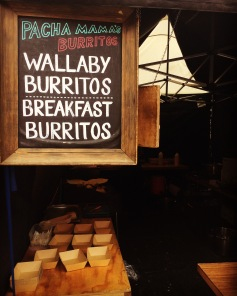 Wallaby burritos