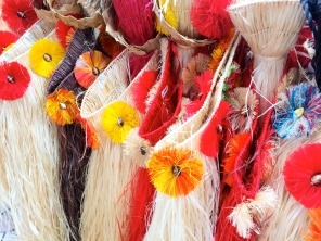 Tahitian grass skirts