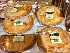 Irish apple pie