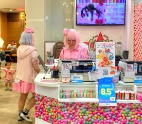 Candy restaurant in Osaka